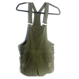 American Bazi overall shorts